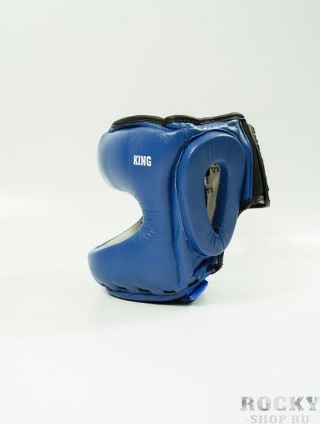 Шлем боксерский с бампером Velo King Full-Face Blue  Velo