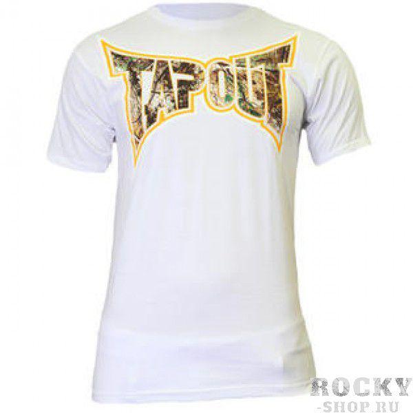 Футболка Tapout Dynasty Mens T-Shirt TapoutФутболки<br>Футболка известного американского бренда Tapout со стильным принтом. Высококачественная печать спереди и на спине. Материал - 100% хлопок. Производство: США.<br><br>Размер INT: S