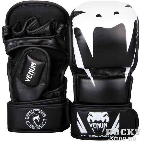 Перчатки для ММА Venum Impact Sparring Black/White Venum