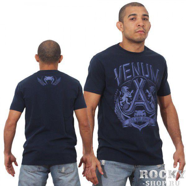 Футболка Venum Jose Aldo Lion T-Shirt - Blue  VenumФутболки / Майки / Поло<br>Фуболка&amp;nbsp;VENUM это новое поколение &amp;nbsp;футболок от Venum. Прекрасное качество. Посвящена чемпиону UFC В легком весе Жозе АльдоТехнические характеристики:- 100% высококачественный хлопок- Высокое качество шелкографии- Спортивная подгонка- Сделано в Бразилии.&amp;nbsp;<br>
