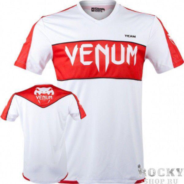 Футболка Venum Competitor Dry Fit Japan VenumФутболки / Майки / Поло<br>Фуболка&amp;nbsp;VENUM Dri Fit это новое поколение тренировочных футболок от Venum. Благодаря технологии Dry Tech, позволяющей регулировать расход тепла путём выявления областей нагревания,новая футболка идеально подходит для тренировок. Технические характеристики:- 100% высококачественный полиэстер- Высокое качество шелкографии- Спортивная подгонка- Сделано в Бразилии. &amp;nbsp;<br><br>Размер INT: XL
