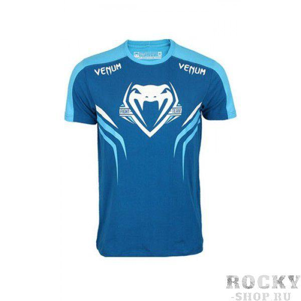 Купить Футболка Venum Shockwave 2.0 T-Shirt Blue (арт. 3431)