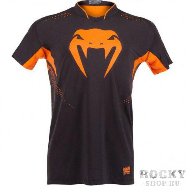 Купить Футболка Venum Hurricane X-fit™ t-shirt - Black-Orange Venum (арт. 3433)