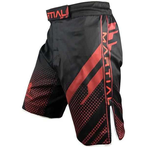 Шорты ММА Athletic pro. Red Fitness MS-129 Athletic pro.