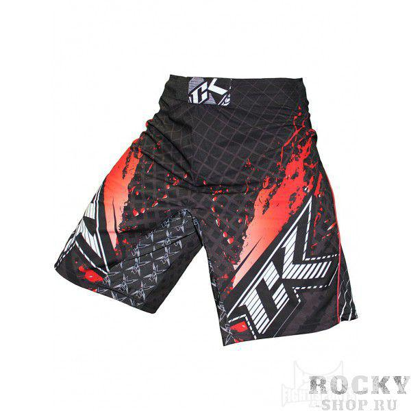 Купить Шорты ММА Contract Killer Stained S2 Shorts - Black/Red (арт. 3455)