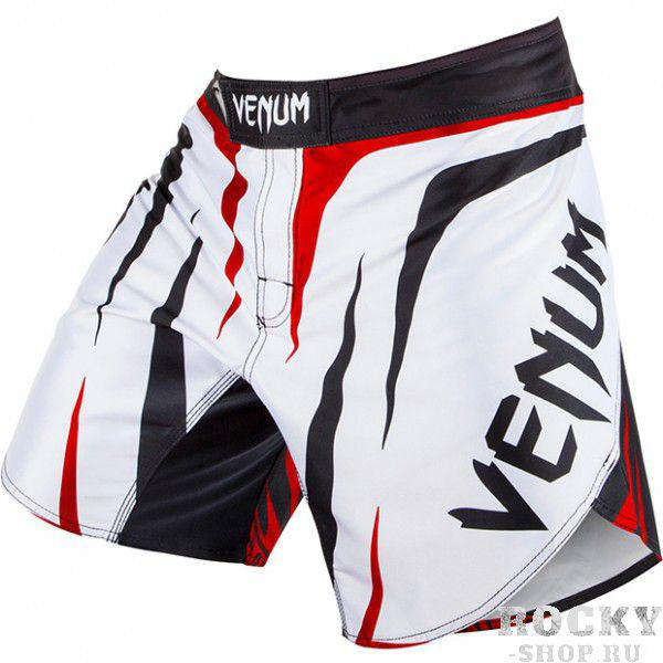 "Шорты Fightshort Venum ""Sharp"" - White/Black/Red"