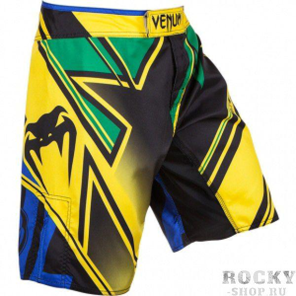 Купить Шорты Fightshort Venum Wands Conflict - Yellow/Blue/Green (арт. 3465)