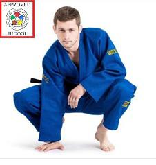 Кимоно для дзюдо Sensei Gold IJF Approved blue Green Hill