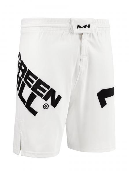Шорты MMA Green Hill M-1 white Green Hill