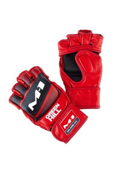 Перчатки MMA Greenhill M-1 красно-чёрные Green Hill
