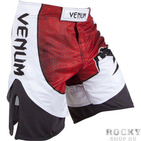 Шорты ММА Venum Amazonia 3.0 Fightshorts - Red VenumШорты ММА<br>Одни из лучших шорт для ММА, Кикбоксинга или BJJ! Новые усовершенствованные шорты Venum Amazonia 3. 0 - отменное качество полиэстера и микрофибры! Именно сочетание этих двух тканей: прочной и легкой микрофибры и эластичного полиэстера, делают эти шорты еще более комфортными и дают полную свободу амплитуде движений. Внешний вид просто сногсшибательный! &amp;nbsp;Особенность анатомического кроя дает ощущение, как будто Вы носите шорты Муай Тай – никаких ограничений движений. &amp;nbsp;- особенности сочетания материала: микрофибра и полиэстер- разрез по бокам для неограниченной свободы- усиленная тройная строчка для большей долговечности- принт змеиной кожи сублимирован в ткань- сделанны в Бразилии<br><br>Размер INT: XXL