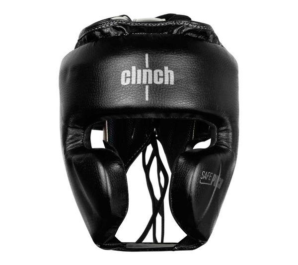 Шлем боксерский Clinch Punch 2.0 черно-бронзовый Clinch Gear