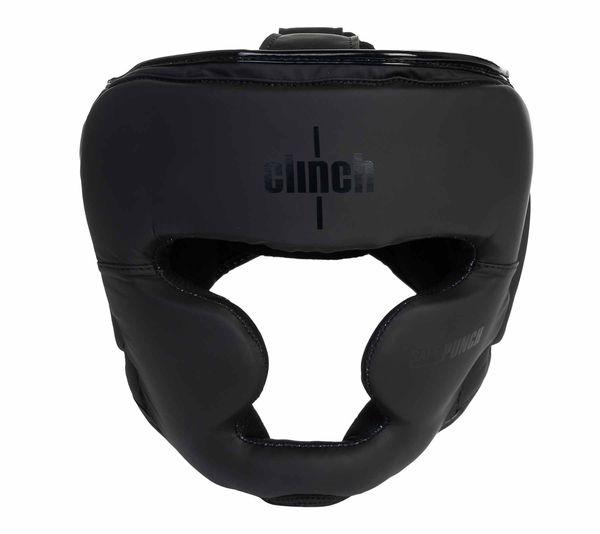 Шлем боксерский Clinch Mist Full Face черный Clinch Gear