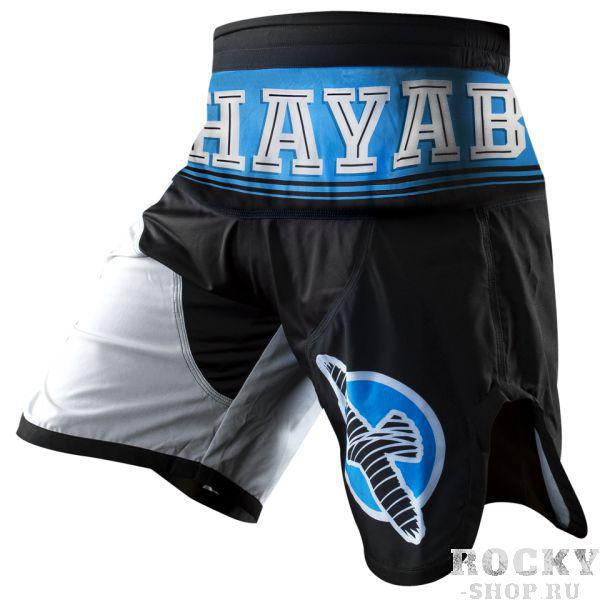 Купить Шорты ММА Hayabusa Flex Factor Training Shorts Blue/Black (арт. 3493)