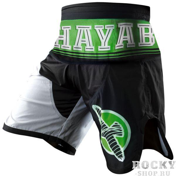 Купить Шорты ММА Hayabusa Flex Factor Training Shorts Green/Black (арт. 3494)