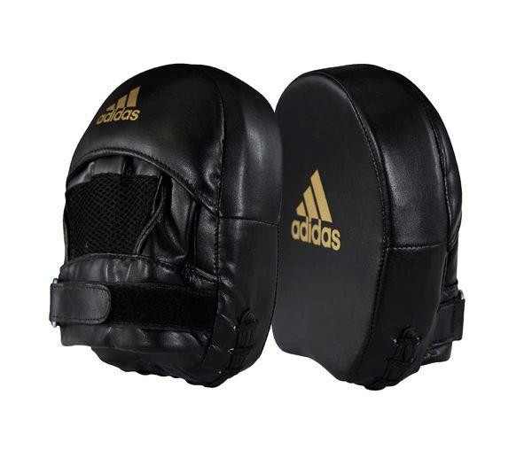 Лапы Elite Mini Mitt Square черно-золотые Adidas
