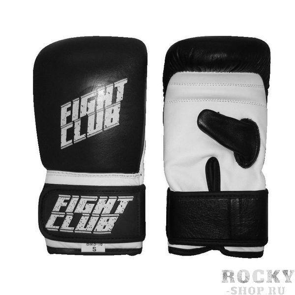 Снарядные перчатки Fight Expert Black/White Flamma