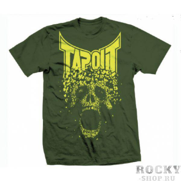 Футболка Tapout Crumbler Mens T-Shirt Green TapoutФутболки<br>Новинка от Tapout. 100% хлопок<br><br>Размер INT: L