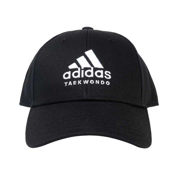 Бейсболка Baseball Cap Taekwondo черно-белая Adidas