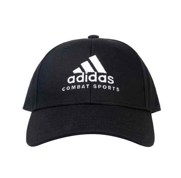 Бейсболка Baseball Cap Combat Sports черно-белая Adidas