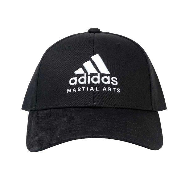 Бейсболка Baseball Cap Martial Arts черно-белая Adidas