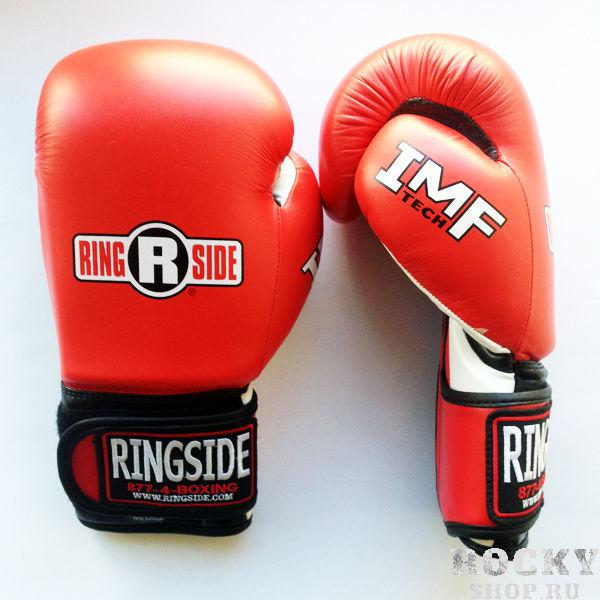 Перчатки снарядные, Красный/чёрный RINGSIDECнарядные перчатки<br>Плотный пенистый наполнитель<br> Крепление липучка<br> Пришитый большой палец<br> Материал - 100% кожа<br><br>Размер: Размер M