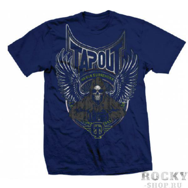 Купить Футболка Tapout Punchy Men's T-Shirt Navy (арт. 3510)