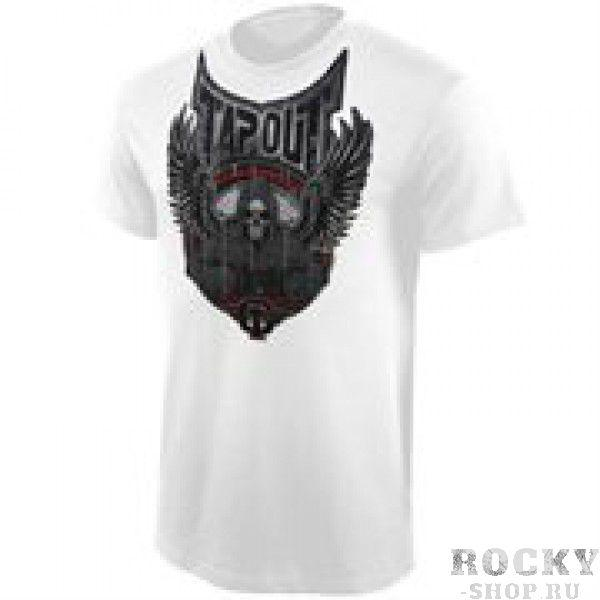 Футболка Tapout Punchy Mens T-Shirt White TapoutФутболки<br>Новинка от Tapout. 100% хлопок<br><br>Размер INT: XL