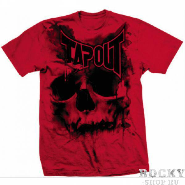 Футболка Tapout Skull Drip Mens T-Shirt Red TapoutФутболки<br>Новинка от Tapout. 100% хлопок<br><br>Размер INT: S