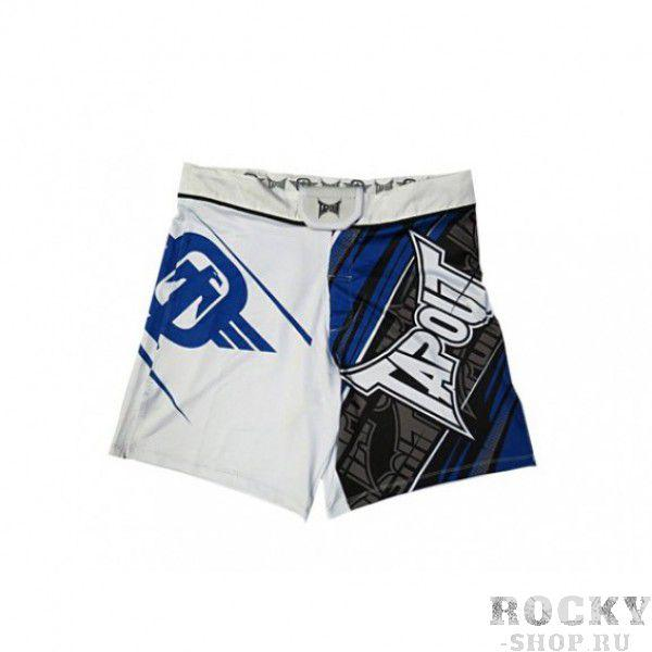 Шорты ММА TapouT 4 Way Stretch Performance Fight Shorts White TapoutШорты ММА<br><br><br>Размер INT: L