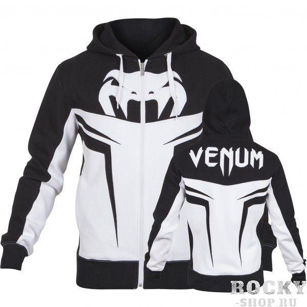 Купить Толстовка VENUM SHOCKWAVE 3.0 HOODY - ICE/BLACK Venum (арт. 3528)