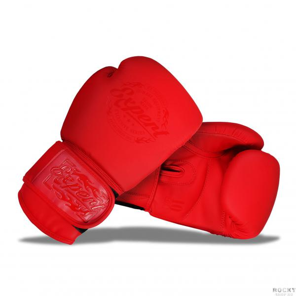 Боксерские перчатки Fight Expert Matte Red, 12 OZ Flamma