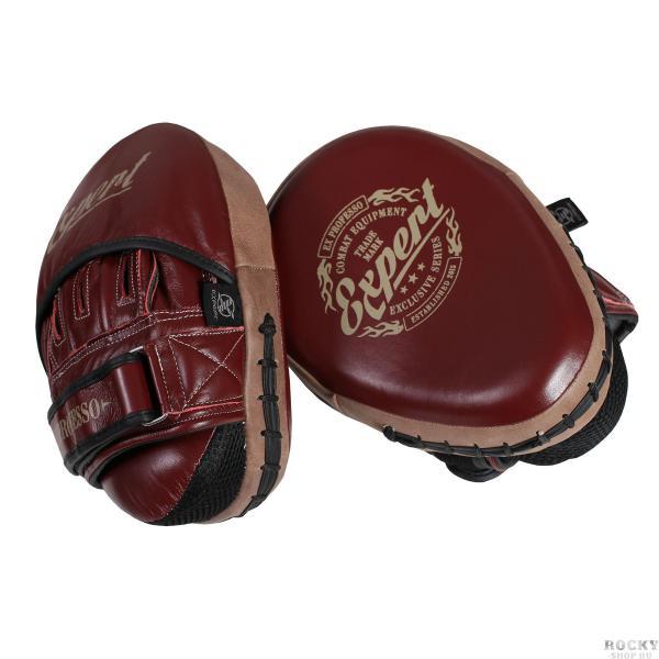 Боксерские лапы Fight Expert Vintage Flamma