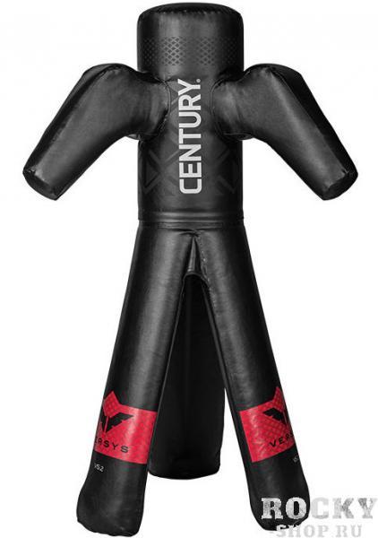 Многофункциональный спарринг-манекен Версус 2 CenturyСнаряды для бокса<br>- «руки» и «ноги» имеют гибкую и мягкуюструктуру для полного сгибания и естественного возвращения к исходной форме- на 40% легче, чем традиционные манекены дляборьбы, что обеспечивает безопасную отработку самого широкого ряда движений- запатентованная конструкция-треногаобеспечивает устойчивость- легко собирать, перемещать и хранить послетренировки- требует сборки    - реалистичная отработка практически всехзахватов без партнера, в том числе бросков, бросков через бедро, захватовногами и руками, ударов в область голени, захваты одной и двумя ногами- отработка комбинационных ударов рукой,локтем, коленом и ногой в верхнюю, среднюю и нижнюю части туловища в стойке ипартере- тренировка без партнера сложных упражнений,таких как захват рук соперника, смена уровней, граунд-энд-паунд (англ. ground-and-pound).     Высота 168 смВес: 23 кгПатентСША № 10185<br>