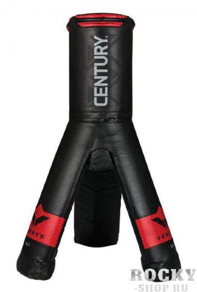 Многофункциональный спарринг-манекен Версус 3 CenturyСнаряды для бокса<br>- ручки наверху позволяют тренировать захватыи удары коленями - запатентованная конструкция-треногаобеспечивает устойчивость, вес на 60% меньше, чем у традиционных манекенов дляборьбы, основание уже заполнено и не требует дополнительного наполнения водойили песком- одновременно могут тренироваться несколькоучастников - съемная подставка для тренировки ударов вобласть паха- легко перемещать и хранить после тренировки- практичный инструмент как дляпрофессионалов, так и для новичков                - тренировка ударов в область паха, внешних ивнутренних ударов по ногам, боковых ударов, а также ударов с разворота, ударовпяткой, хуков и прямых ударов- тренировка техники и механики для лоу-киков:в области голеней, коленей, бедер и паха - отработка комбинационных ударов рукой,локтем, коленом и ногой в верхнюю, среднюю и нижнюю части туловища в стойке ипартере- подготовка по множеству дисциплин:самооборона, бокс, боевые искусства, муай тай, кикбоксинг и смешанные боевыеискусства                Высота 175 смВес: 46 кгПатентСША № 10186-10186B<br>