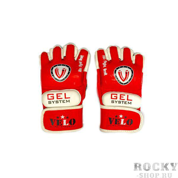 Детские перчатки для ММА Velo Gel Red/White Velo