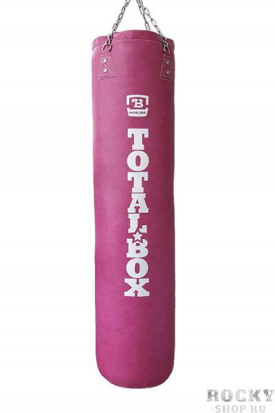 Боксерский мешок Totalbox Luxure Pink 45 кг, 150*35 см Aquabox