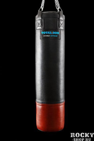 Боксерский мешок TOTALBOX DOUBLE ATTACK, 75 кг, 35*150 см Aquabox
