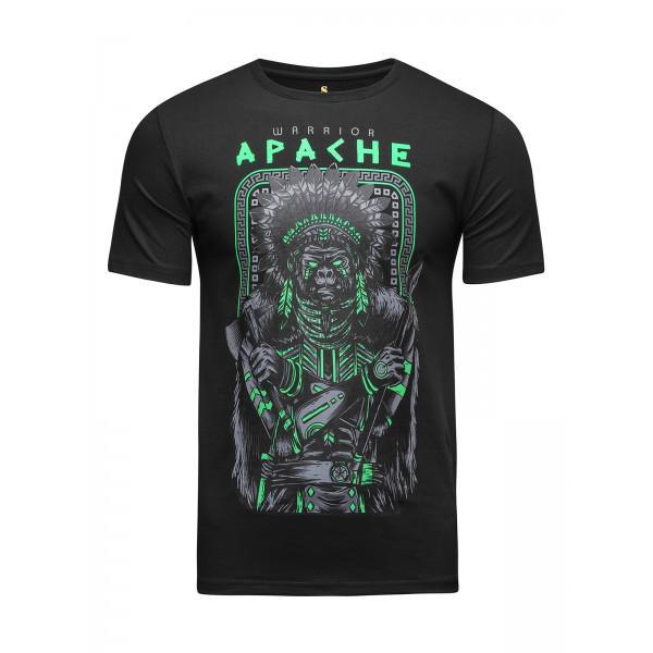 Футболка Banji Apache Warrior Black (арт. 35782)  - купить со скидкой