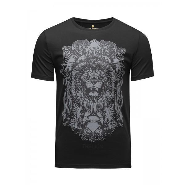 Футболка Banji Lion Black (арт. 35790)  - купить со скидкой