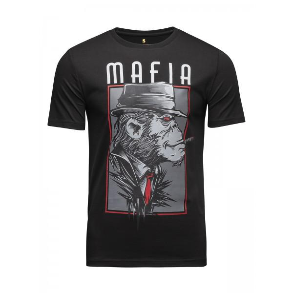 Футболка Banji Mafia Black (арт. 35791)  - купить со скидкой