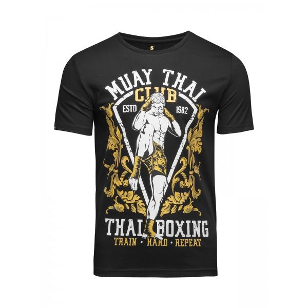 Футболка Banji Muay Thai Club Black (арт. 35793)  - купить со скидкой