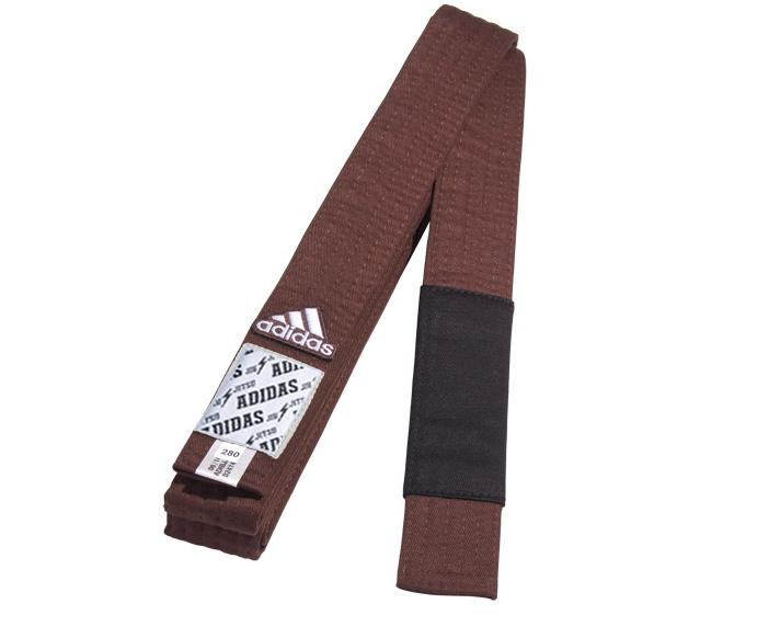 Пояс для джиу-джитсу Club, коричневый Adidas