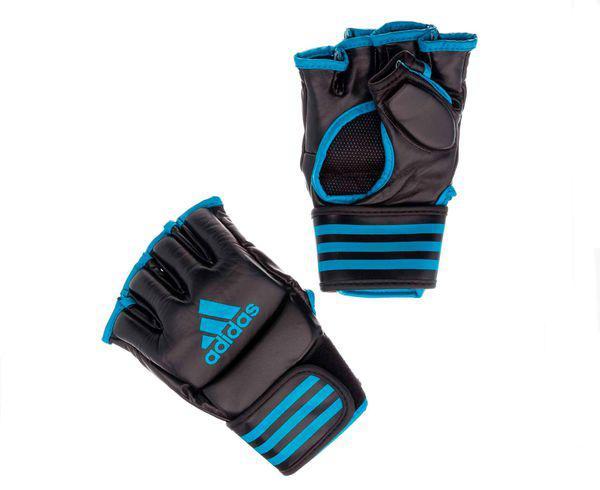 Перчатки для смешанных единоборств Competition Training черно-синие, черно-синие Adidas