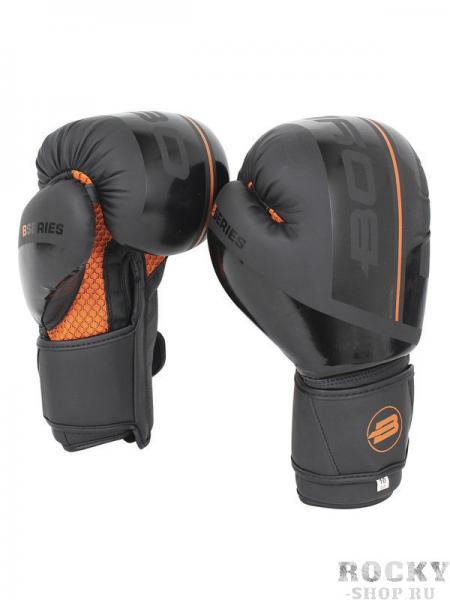Боксерские перчатки BoyBo B-Series BBG400 Black/Orange, 12 OZ Boybo