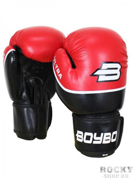 Перчатки боксёрские BoyBo Ultra Red, 10 OZ Boybo