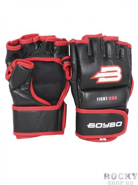 Перчатки MMA BoyBo Challenger Black/Red Boybo