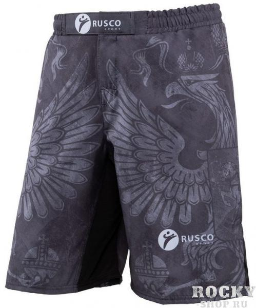 Детские шорты ММА Rusco Sport Black Herb Rusco