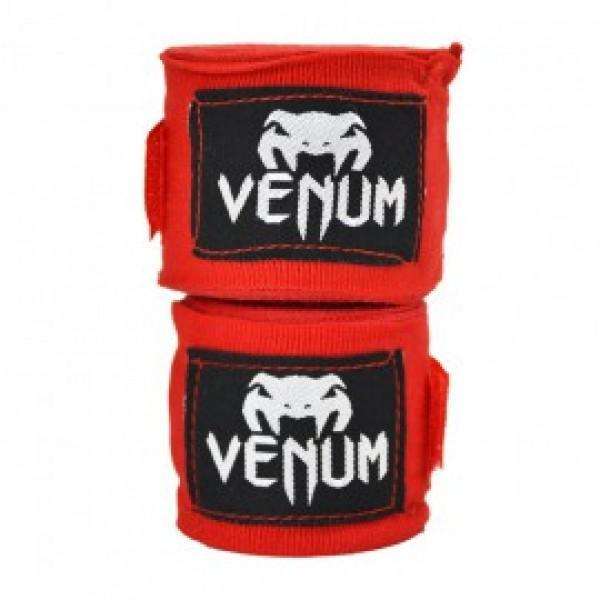 Бинты Venum Kontact Boxing Handwraps 2,5 m - Red (арт. 3598)  - купить со скидкой