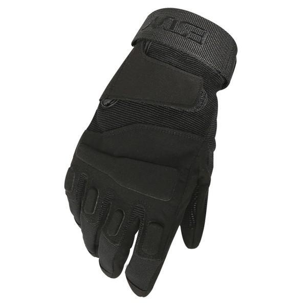 Перчатки тактические Tactician G-01 Full Finger Black  Tactician